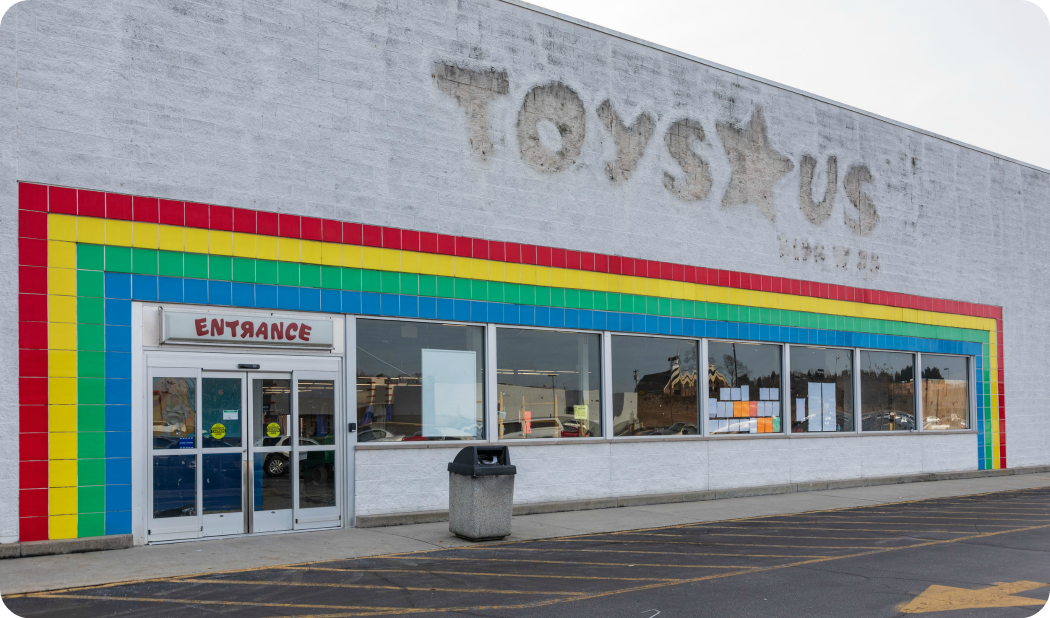 Toys R Us Store Closed
